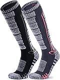 TSLA Men and Women Winter Ski Socks, Calf