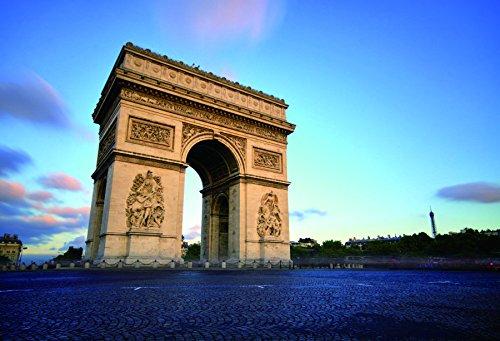 (Yeele 9x6ft Arc De Triomphe Backdrop European Paris Landmark Landscape Triumphal Arch Photography Background Baby Adult Travel Portraits Photo Booth Video Shooting Vinyl Wallpaper Studio Props)