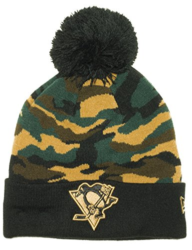 New Era Camo Captivate NHL Beanie Knit (Pittsburgh Penguins)