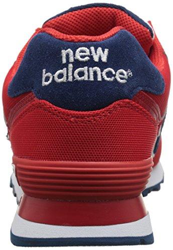 Rosso Donna Ginnastica Red Balance da Polo Pique New Pack 574 Scarpe Oqp6T