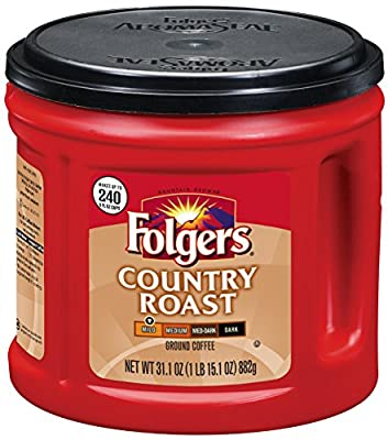 Folgers Country Roast Ground Coffee 31.1 Ounce from Folgers
