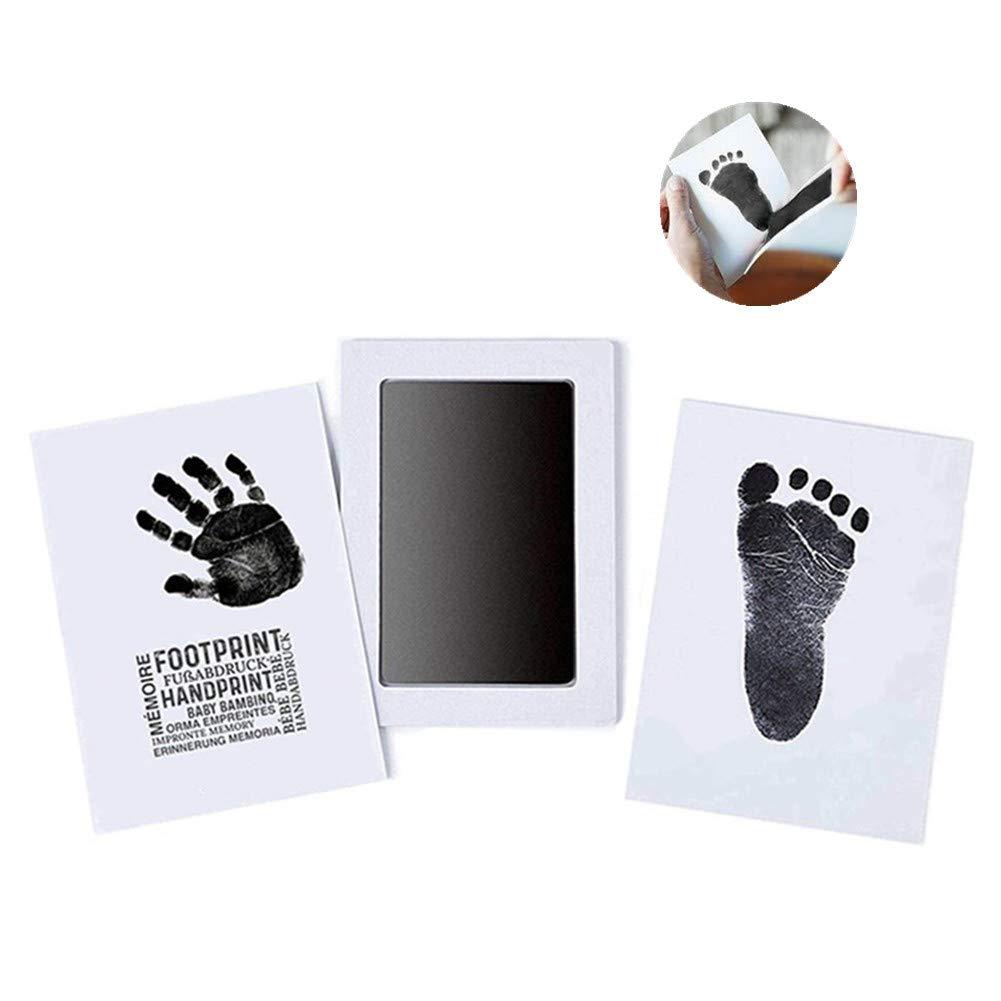 Beb/éClean Touch huella de la mano o la huella sin contacto con la piel Seguro para beb/és de kiinda almohadilla de tinta negro