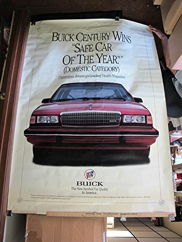 1990's Buick Century Safe Car of the Year Poster