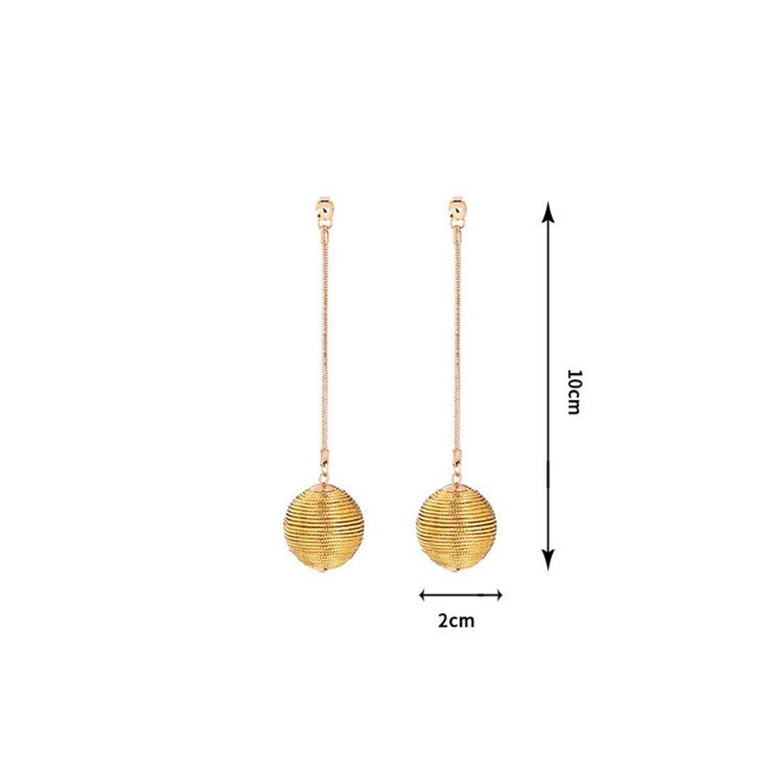 earrings long tassels ball earrings|clip on earrings|ear cuffs|dangle earrings|earring jackets|hoop earrings|stud earrings|European and American fashion tassels pendants ladies studs