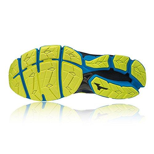 001 Zapatillas 2 Hombre Wave Sky Blue Black Mizuno O para Multicolor Yellow qTpPtTnx