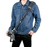 Camera Strap, Sugelary Long Shoulder Neck Sling Strap with Quick Release and Safety Tether Strap Belt for Canon Nikon Sony DSLR SLR (Shoulder Neck Strap)