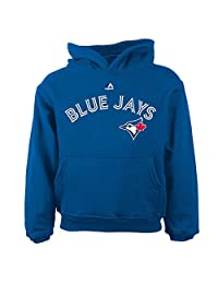 Toronto Blue Jays Preschool Wordmark Pullover Fleece Hoodie