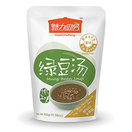 (Tohkin Food USA Ready-to-serve Mung Bean Soup, Box (300g x 9 pouch))