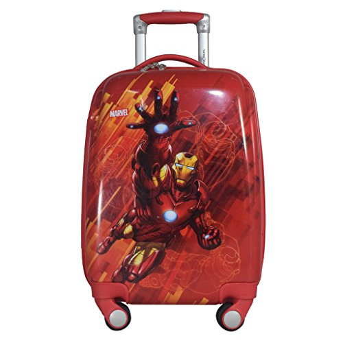 Texas USA Polycarbonate 18  Red Printed Children's Luggage