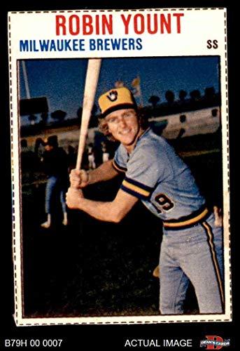 1979 Hostess # 55 Robin Yount Milwaukee Brewers (Baseball Card) Dean's Cards 5 - EX Brewers