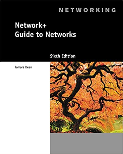 Network Guide To Networks Tamara Dean 9781133608196