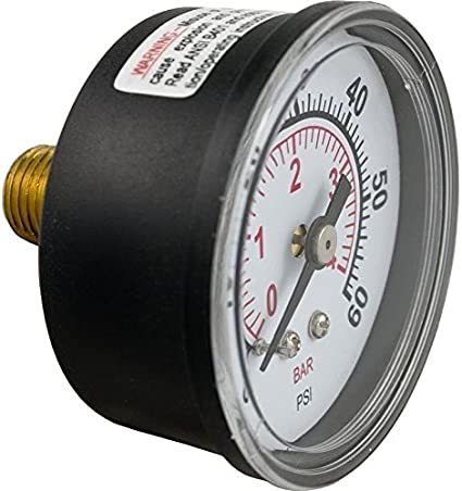 Excellent Performance Pool Filter Pressure Gauge Wadoy 190059 Replacement Compatible with Pentair Perfectly Replaces Pentair Pool Pressure Gauge