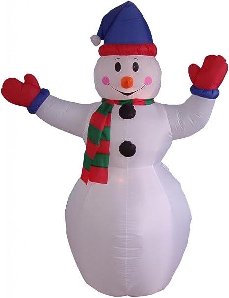 Amazon.com: 6 foot Navidad Muñeco de nieve inflable Patio ...