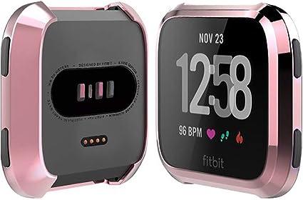 Amazon.com: Funda para Fitbit Versa, iHYQ TPU Protector de ...