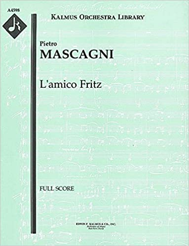 {* TOP *} L'amico Fritz: Full Score [A4598]. tattoo Todos Global muchas Epson
