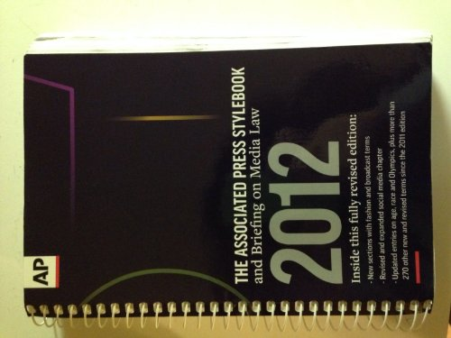Assoc.Pr.Stylebook+Briefing On...2012