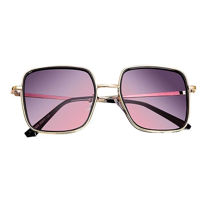 Yolmook - Gafas de sol para mujer, polarizadas, de gran ...