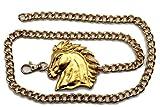 Product review for TFJ Women Fashion Belt Metal Chains Hip Waist Cowboys Horse Plus M L XL Gold