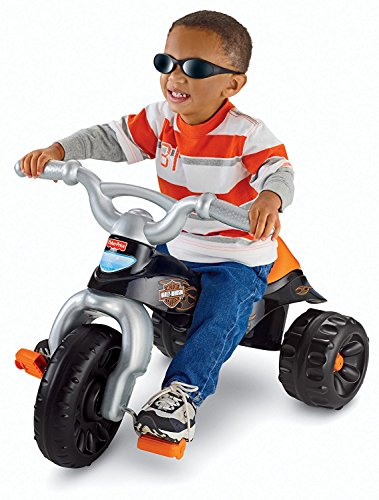 Motorcycle Boys (Fisher-Price Harley-Davidson Tough Trike)