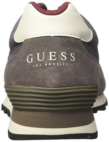 Sneaker Guess Grigio Man Active Grey Rinse Uomo FOa80Oq