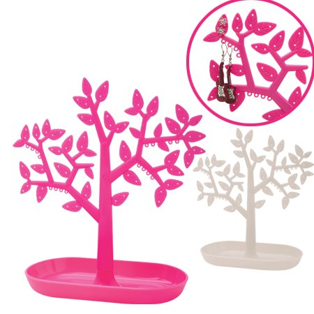 DCI Tree Shaped Earring Holder, Assorted Colors