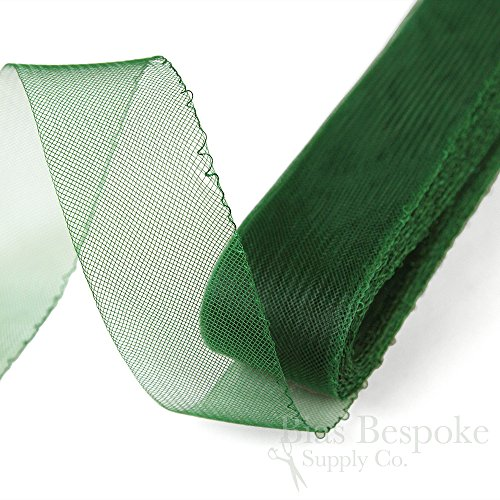 25 Yards of Soft Horsehair Braid with Gathering Thread 6 Wide Medium Gray