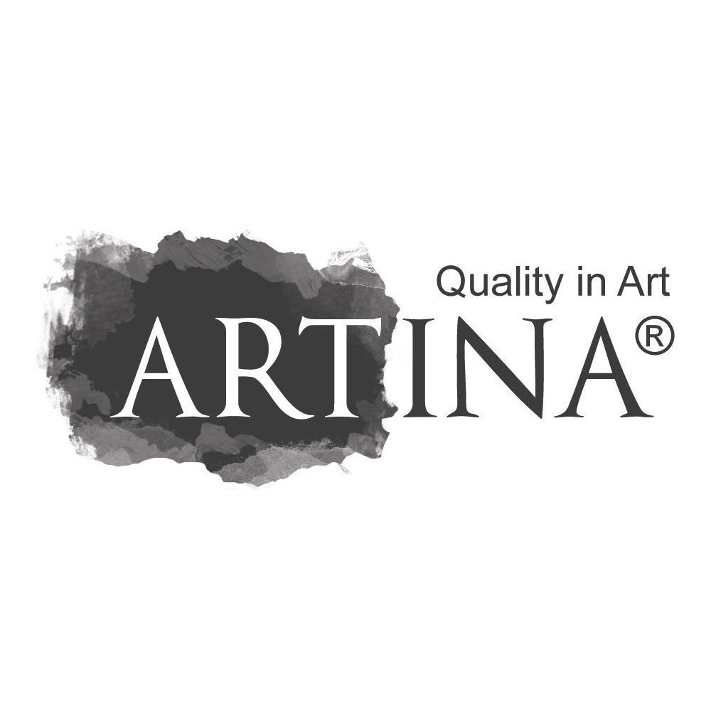 Artina 3 Blank Canvases Triptych Canvas Set Artists Multi Panel Split Piece Cotton Canvas Stretched /& Gesso Primed