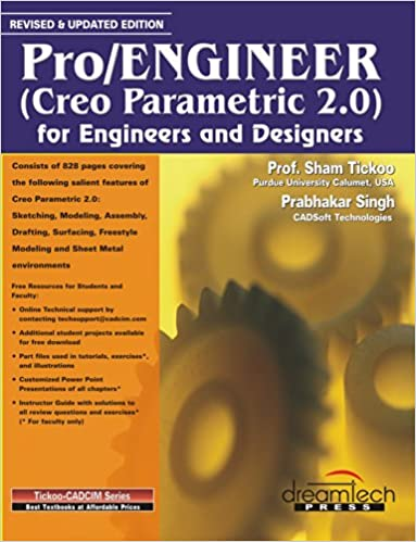 Creo Parametric 2.0 Book By Sham Tickoo