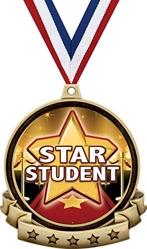 Star Student Medals - 2.5