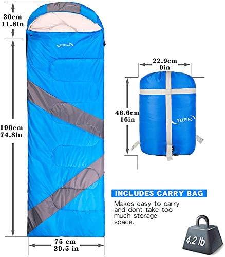Yeeping 3-4 Season Envelope Sleeping Bag