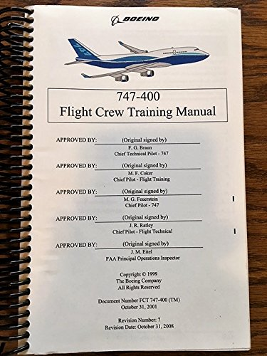 Download pdf by the boeing company: boeing 747-400 flight crew.