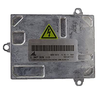 1307329115 Xenon HID Headlight Ballast Control Unit Module with Fast Startup Safe Stability for Cadillac DTS Audi A4 S4 Saab 9-7x Volvo 1307329 098 1307329121 1307329123