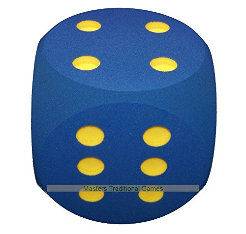 Giant Foam Die - 30cm - BLUE by Masters Traditional Games