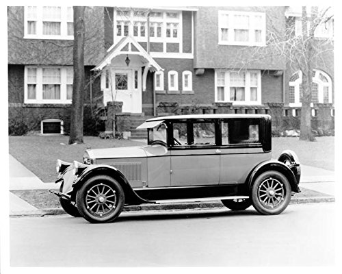 1926 Pierce Arrow 80 Six Cylinder Coach Factory Photo (Cylinder Arrow)
