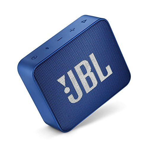 JBL GO 2 Portable Waterproof Bluetooth Speaker (Navy Blue)