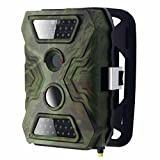 Dreamyth S680 Scouting Hunting Camera HD Digital Infrared Trail Camera IR LED Practical (army green)