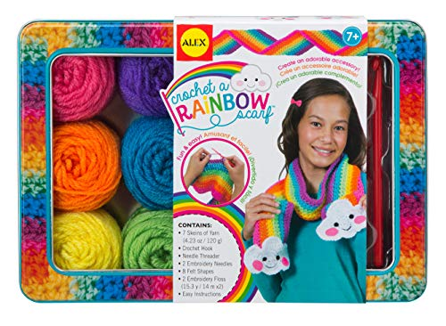 ALEX Toys Craft Crochet A Rainbow ()