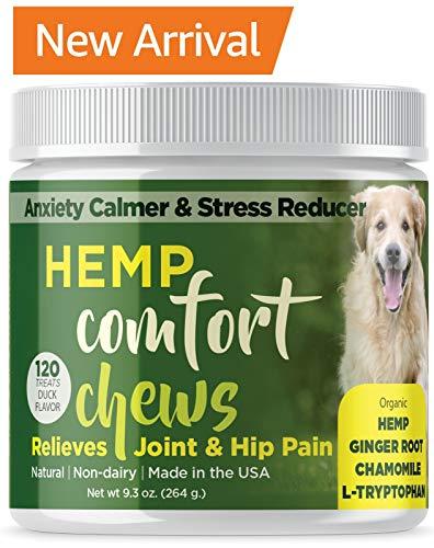 Dog Anxiety Relief treats with HEMP