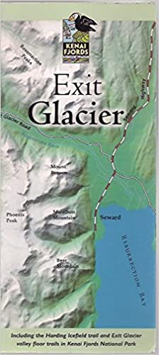 Exit Glacier Map and Brochure Including the Harding Icefield Trail