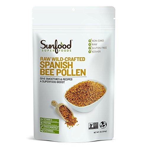 superfoods spanish bee pollen granules