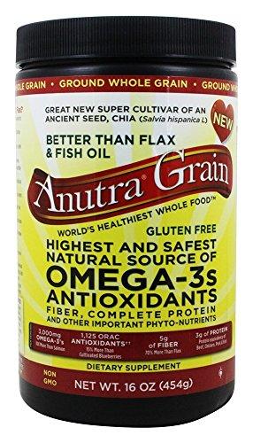 Anutra Omega 3 Antioxidants Fiber and Protein