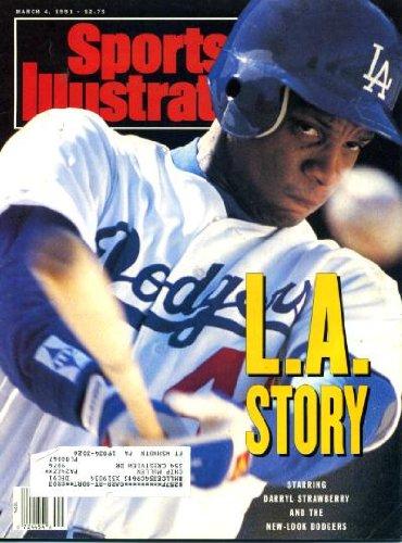 Sports Illustrated March 4 1991 Darryl Strawberry/LA Dodgers, Tommy Lasorda, Georgetown Hoyas, Fly So Free/Kentucky Derby, Dominique Wilkins/Atlanta Hawks, Hank Gathers
