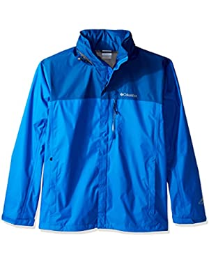 Men's Big-Tall Pouration Jacket, Super Blue/Marine Blue, 4X
