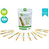 12 Miswak Sticks for Teeth by Eco Compassion | 100% Natural Toothbrush | Eco Friendly Sewak Chewing Stick for Teeth Whitening | Whiter, Fresher Breath | A Healthy Manual Toothbrush