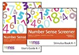 Number Sense Screener, Nancy C. Jordan and Joseph Glutting, 1598572008
