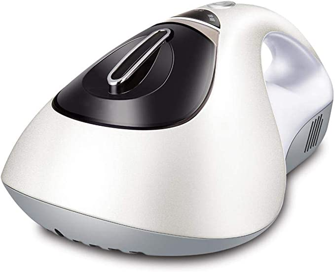 Aspirador de colchon 15KPa succión Aspirador de acaros HEPA avanzada luz UV elimina eficazmente los ácaros del polvo Bichos alérgicos Polen para colchones almohadas paños alfombras Sofas, blanco: Amazon.es: Hogar