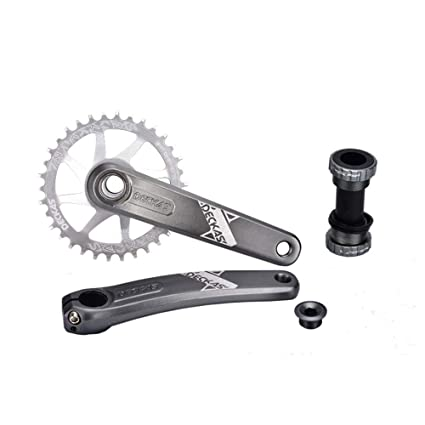e8603a20b68 Bike Chainrings, Bicycle Chainring 32T 34T 36T 38T One-Piece Sprocket  Mountain Bike Single