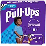 Pull ups Learning Designs Potty Training Pants for Boys, 3t-4t (32-40 lb.), 96 count