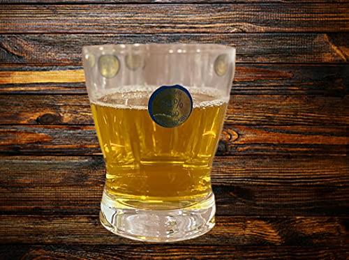 DUCATI Bohemia Crystal 6 PCS Glass Set for Water, Juice, Whisky ETC 300 ML