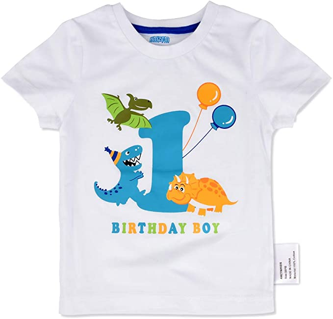 If Your Happy /& You Know It T-Rex Unisex Kids T-Shirt Dinosaur Childrens Top